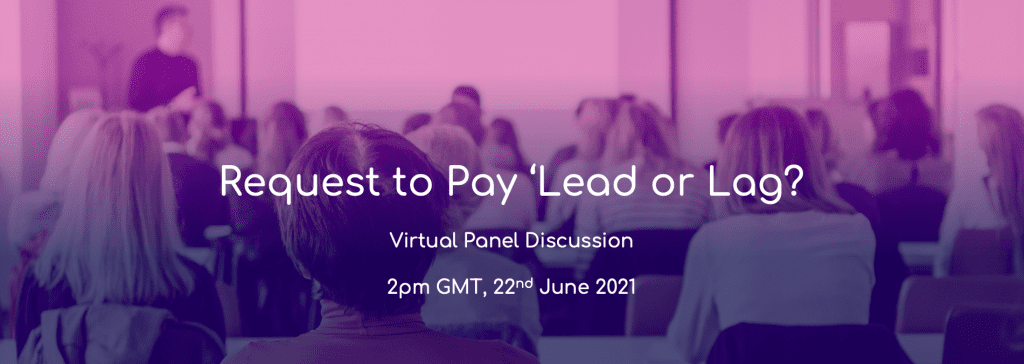 request to pay webinar event header image